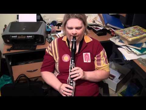 La gazza ladra 1st & 2nd clarinet part reading 18th May 2011