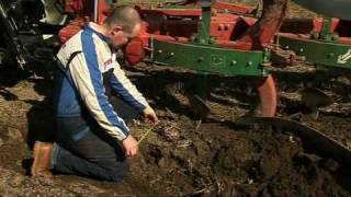Good ploughing techniques