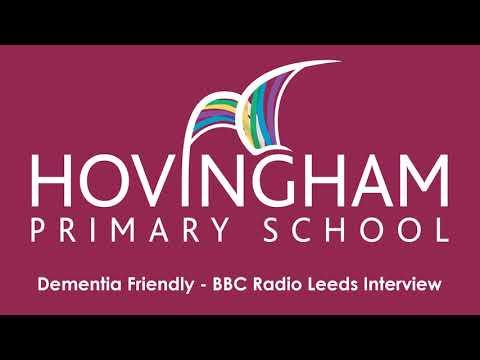 Hovingham Primary School - Dementia Friendly - BBC Radio Leeds Interview with Andrew Edwards