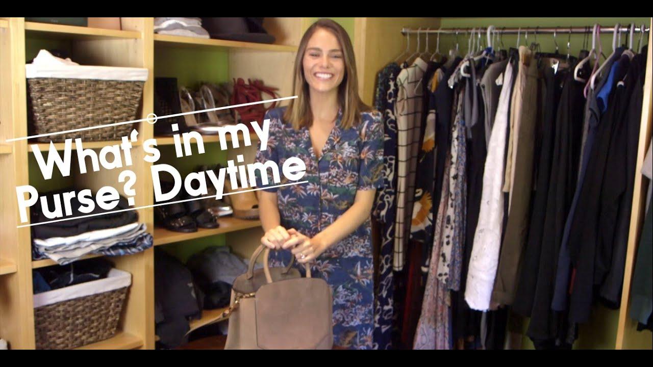 b90bdd9e1ca What s in My Purse  Daytime - YouTube