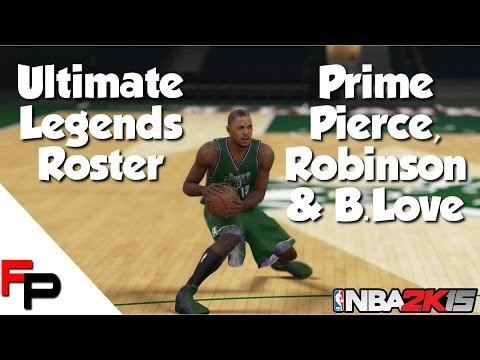 NBA 2K15 - Prime Paul Pierce, Glenn Robinson & Bob Love - Ultimate Legends Roster #51