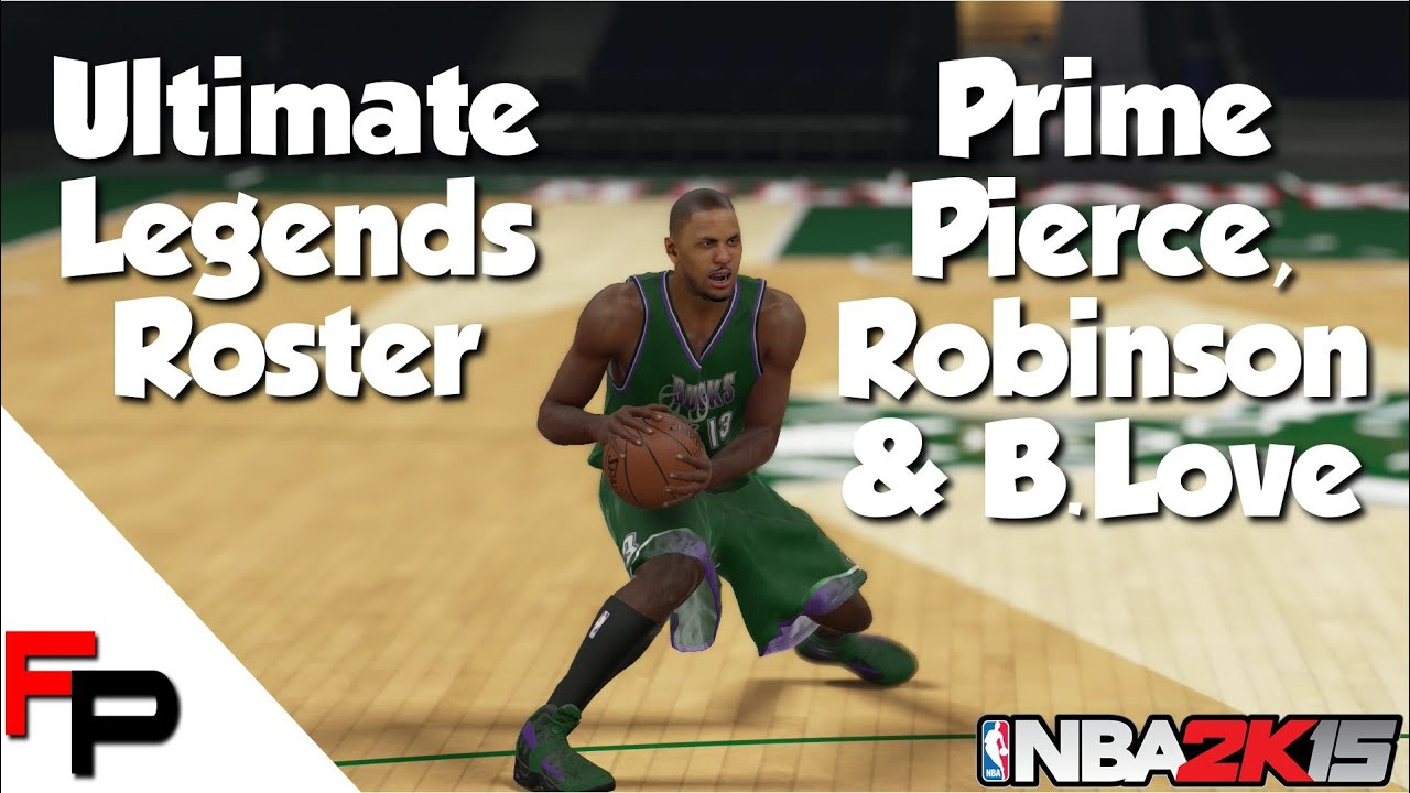 NBA 2K15 Prime Paul Pierce Glenn Robinson & Bob Love Ultimate