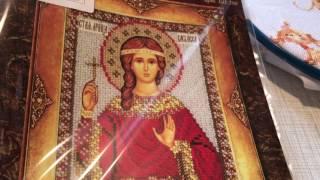 Планы на апрель/вышивка крестом и бисером/4 процесса🤔