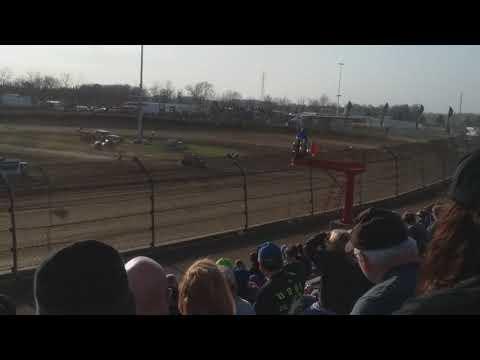 Jason McDougal Qualifying  Kokomo Speedway