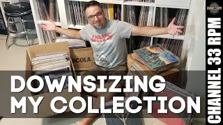 TOO MANY RECORDS — Downsizing my record collection