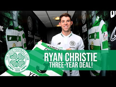 Celtic FC - Ryan Christie signs new three-year deal