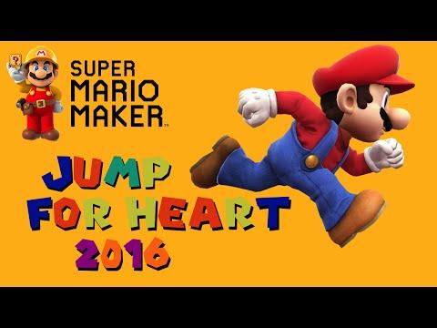 Squishy Duck Super Mario Maker 4 : Super Mario Maker: Jump For Heart 2016