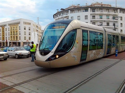 Tramway in Rabat Morocco 2017