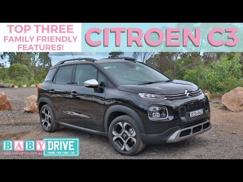 2019 Citroen C3 Aircross mini-review​: Top 3 family-friendly features