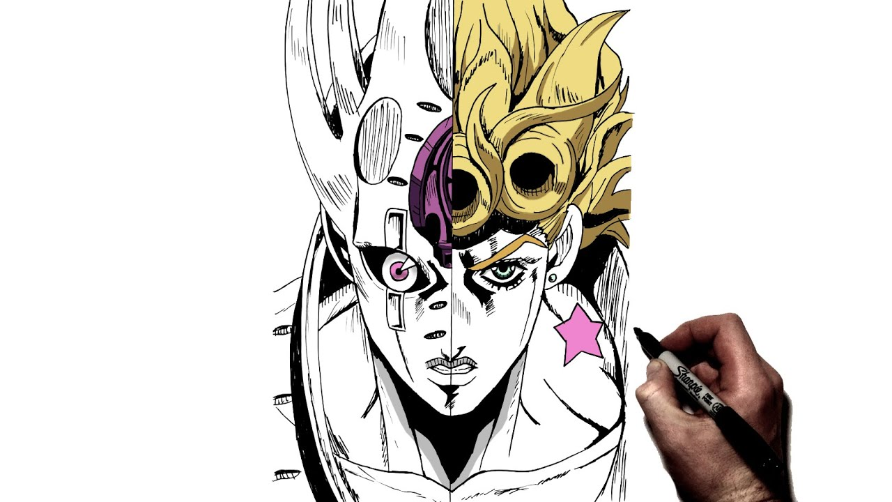 How To Draw Giorno