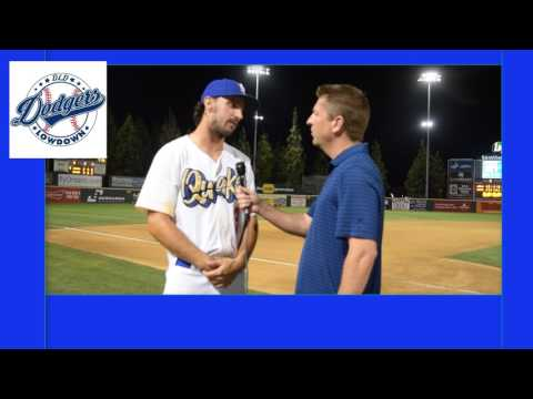 Post Game Chats - Tony Gonsolin - Dodgers Prospect