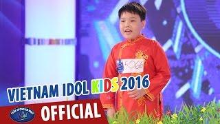 vietnam idol kids - than tuong am nhac nhi 2016 - ngoi tua man thuyen - ngoc thanh
