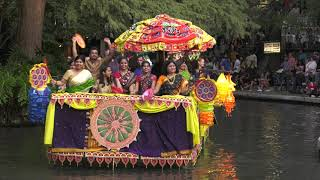 Diwali 2017- San Antonio downtown - River parade -state of Assam