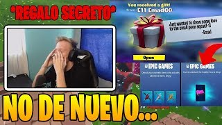 Tfue Receive **SECRET GIFTS** FROM EPIC GAMES IN FORTNITE!! 😱😱 Do Gifts RETURN?