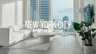 Nyc Apartment Tour | All White, Modern & Minimalistic 1-bedroom