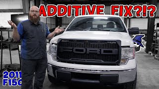 Can an engine additive really fix this 2011 F150? CAR WIZARD shows how to diagnose and repair