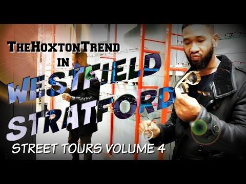 VISTING WESTFIELD in STRATFORD!! | STREET TOURS!