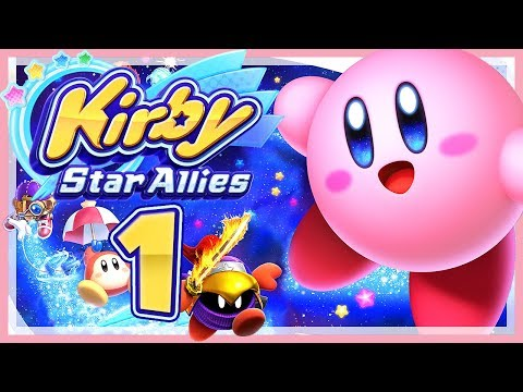KIRBY STAR ALLIES # 01 💞 Kirby in High Definition! [HD60] Let's Play Kirby Star Allies