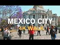MEXICO CITY 4K |  HISTORIC CENTER WALK - 2019 TRAVEL VLOG (Subtitulos)