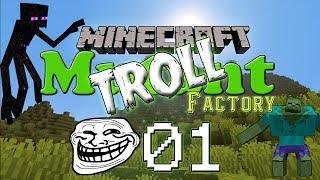 [Minecraft FR]Troll the Mutant 01 : Prank aux bouquins piégés