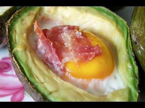 ponte a cocinar aguacate relleno de huevo y jam n youtube