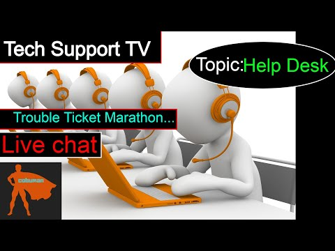 Tech Support TV, TOPIC: Learning Help Desk, Jira Ticket System.