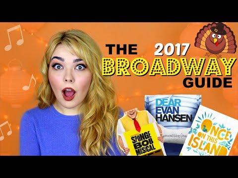 BROADWAY Guide to Macy's Thanksgiving Day Parade 2017 | EVAN HANSEN, SPONGEBOB, + MORE!
