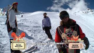 S.K.A.T.E. on Snow : McRae Williams VS Henrik Harlaut - SEMI FINALS - VARS TOURNAMENT
