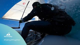 #SailingAllTogether Week 4 | Classy front loops, symmetrical tacking and a Hobie capsize fail