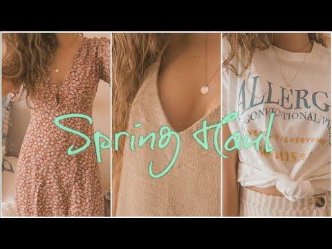 SUPER HAUL PRIMAVERA | Nueva colección | Zara + Pull&Bear | Sandra Caballero ♡