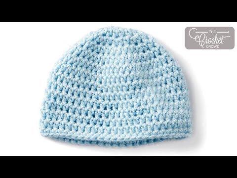 How To Crochet A Preemie Hat 3 4 Lbs Youtube