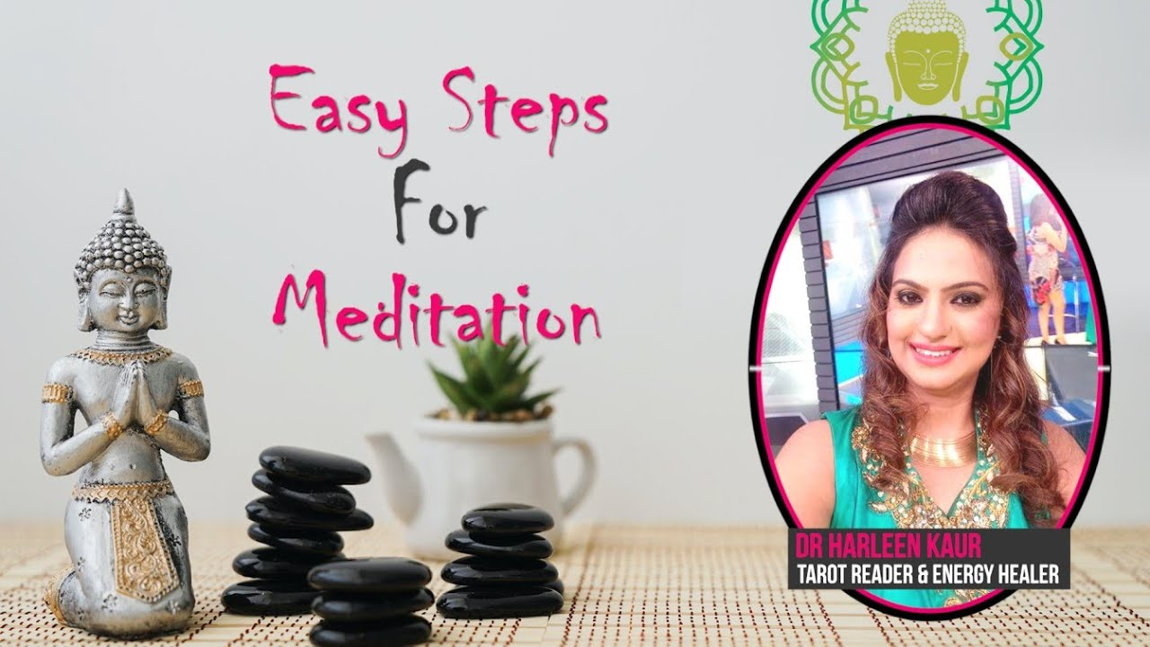 Easy steps for Meditation | Pink Talk | Dr Harleen Kaur