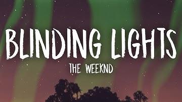 The Weeknd - Blinding Lights (Lyrics)