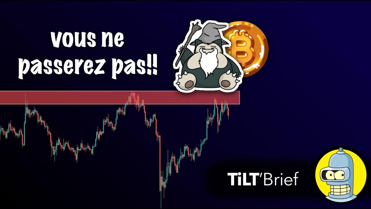 [ANALYSE CRYPTO] Bitcoin Toujours Sur Résistance : 10K Le Saint Niveau |  BTC 1