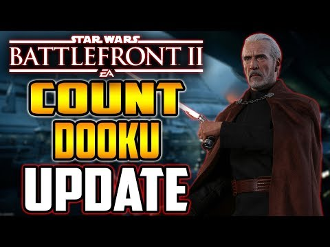 Count Dooku Community Transmission! Darth Tyranus Update - Star Wars Battlefront 2 thumbnail