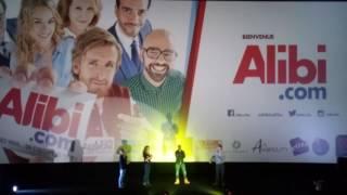 Philippe lacheau et l équipe du film alibi.com au CGR à BOURGES