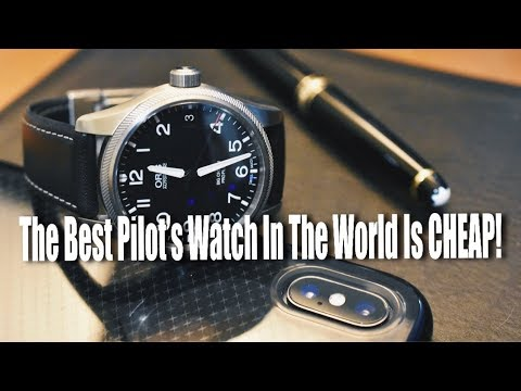 The Best Pilot's Watch In The World Is CHEAP!