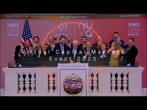 VolitionRx Limited Releases Video of Virtual Capital Markets Day 2020