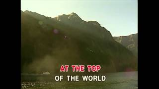 Top of the World - The Carpenters (Karaoke Cover)