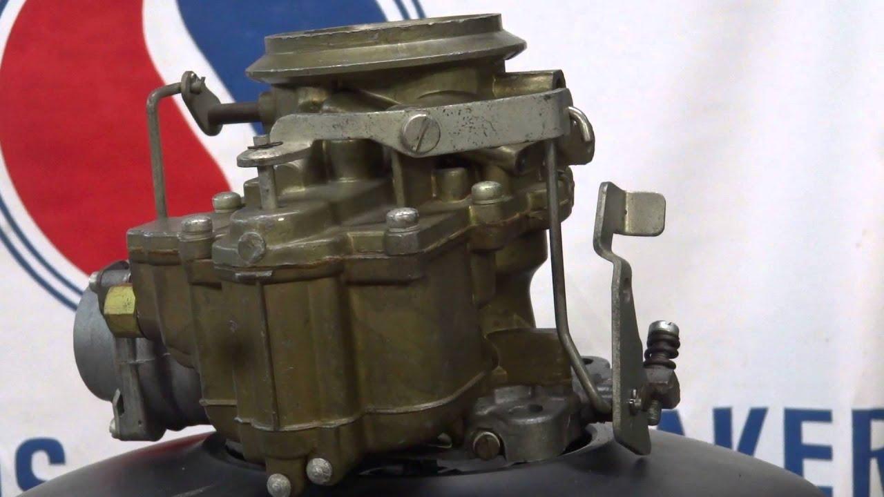 bendix stromberg single barrel carburettor