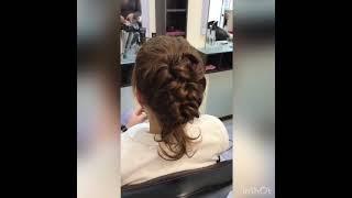 ПРАКТИЧНО Процесс сделать прическу в Броварах Виктория Феденко салон красоты La Familia salon