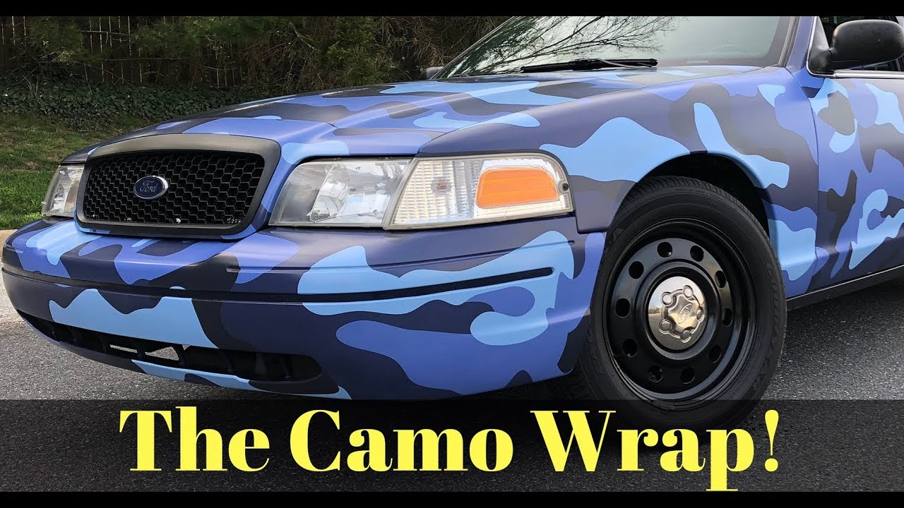 cost  vinyl wrapping  ford crown victoria youtube