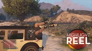 Highlight Reel #52 - Hitchhiking Can Be A Headache In GTA V