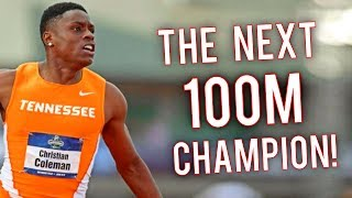 Christian Coleman ● The Boy Who Beat Usain Bolt | 100M