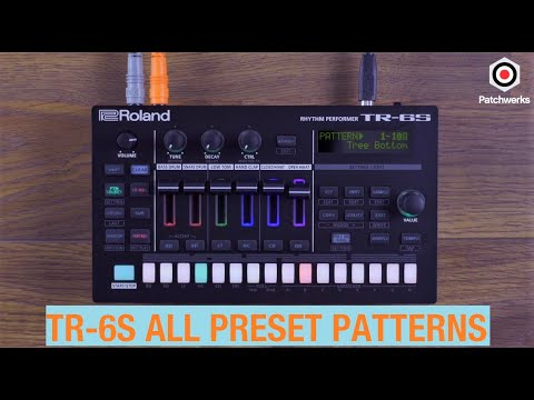 Roland TR-6S is here! (all preset patterns)