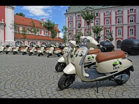Skutery I Samochody Współdzielone Dostępne W Poznaniu