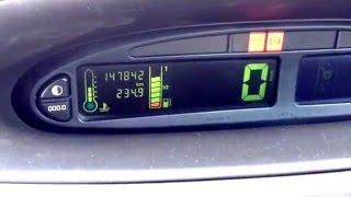 Citroën Xsara Picasso. Dysfonctionnement de la jauge électronique de carburant