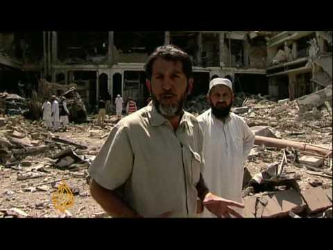 Hotel Bomb Blast Shakes Peshawar - 10 Jun 09
