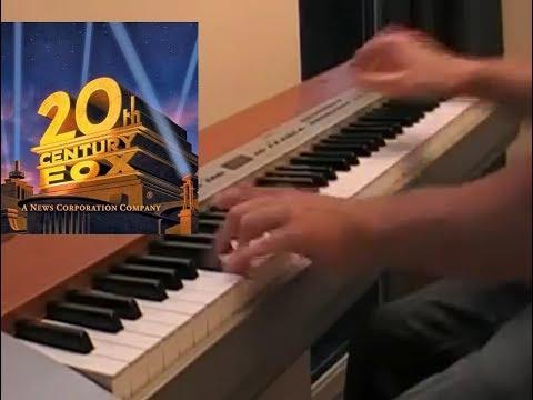 20th Century Fox piano  Fanfare sheet+midi