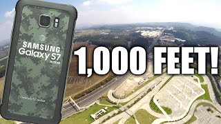 Can a Galaxy S7 Active Survive a 1,000 FOOT DROP??!!!